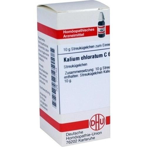 KALIUM CHLORATUM C 6, 10 G, Dhu-Arzneimittel GmbH & Co. KG