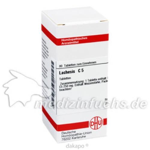 LACHESIS C 5, 80 ST, Dhu-Arzneimittel GmbH & Co. KG