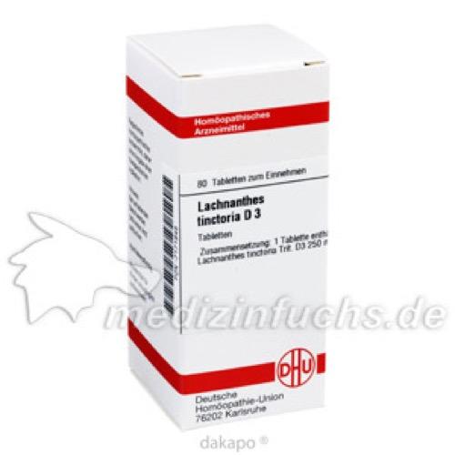 LACHNANTHES TINCT D 3, 80 ST, Dhu-Arzneimittel GmbH & Co. KG