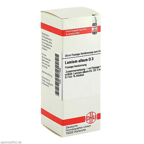 LAMIUM ALBUM D 3, 20 ML, Dhu-Arzneimittel GmbH & Co. KG
