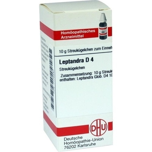 LEPTANDRA D 4, 10 G, Dhu-Arzneimittel GmbH & Co. KG