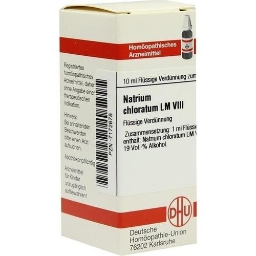 LM NATRIUM CHLORATUM VIII, 10 ML, Dhu-Arzneimittel GmbH & Co. KG