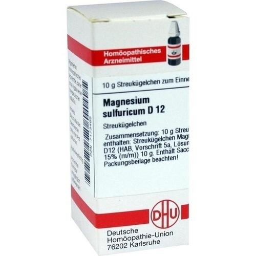 MAGNESIUM SULFURIC D12, 10 G, Dhu-Arzneimittel GmbH & Co. KG