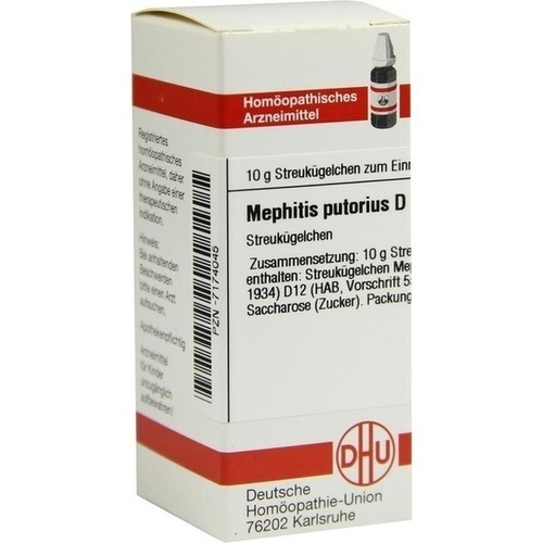 MEPHITIS PUTORIUS D12, 10 G, Dhu-Arzneimittel GmbH & Co. KG