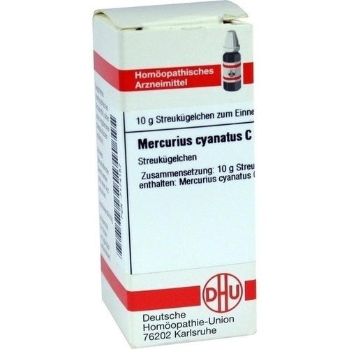 MERCURIUS CYANATUS C30, 10 G, Dhu-Arzneimittel GmbH & Co. KG
