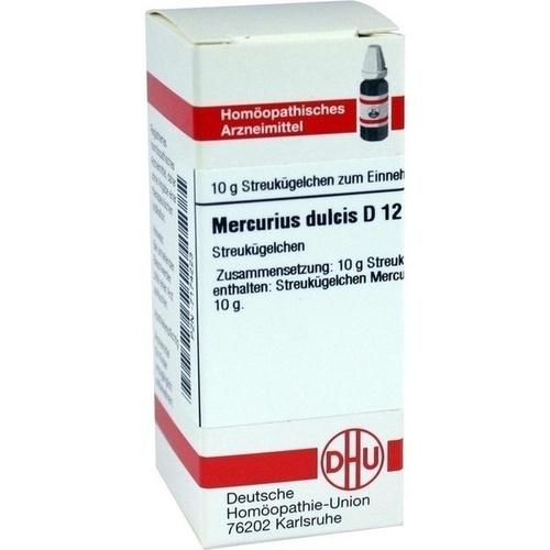 MERCURIUS DULCIS D12, 10 G, Dhu-Arzneimittel GmbH & Co. KG