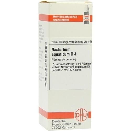 NASTURTIUM AQUATICUM D 4, 20 ML, Dhu-Arzneimittel GmbH & Co. KG