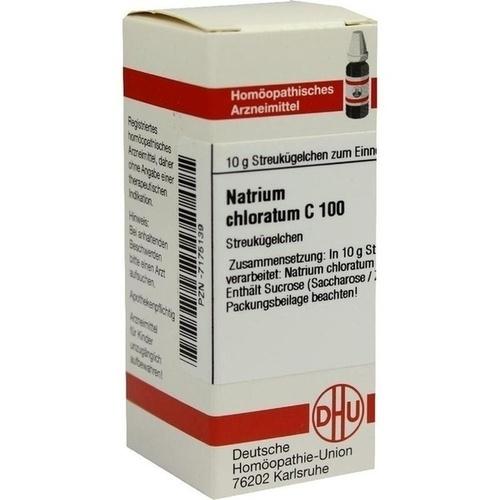 NATRIUM CHLORATUM C100, 10 G, Dhu-Arzneimittel GmbH & Co. KG