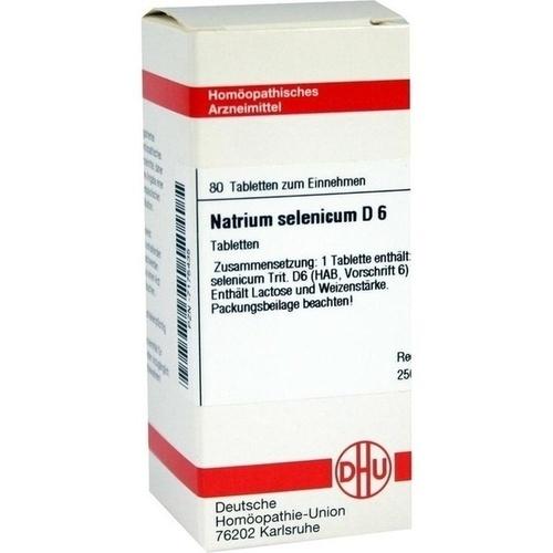 NATRIUM SELENICUM D 6, 80 ST, Dhu-Arzneimittel GmbH & Co. KG