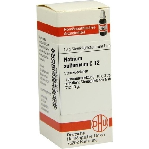 NATRIUM SULFURICUM C12, 10 G, Dhu-Arzneimittel GmbH & Co. KG
