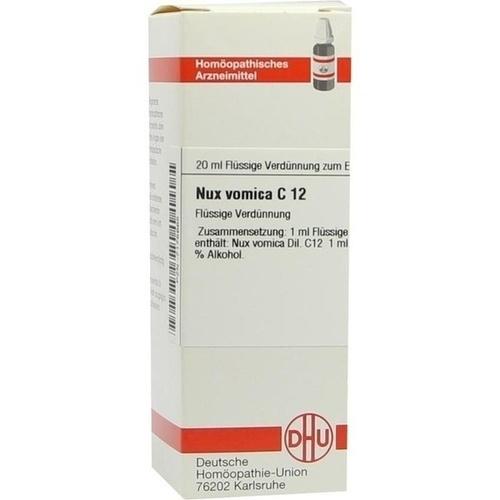 NUX VOMICA C12, 20 ML, Dhu-Arzneimittel GmbH & Co. KG