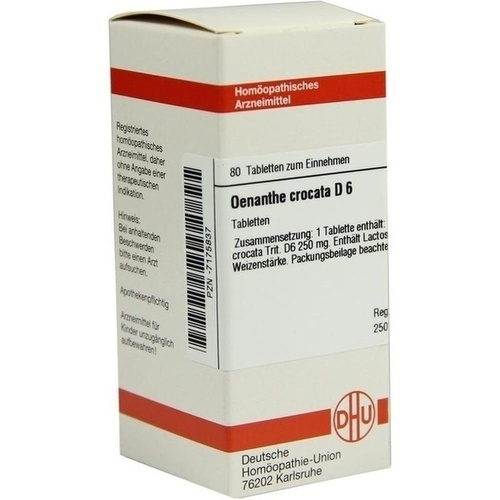 OENANTHE CROCATA D 6, 80 ST, Dhu-Arzneimittel GmbH & Co. KG