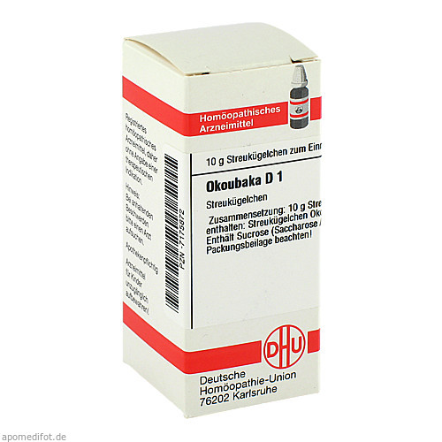 OKOUBAKA D 1, 10 G, Dhu-Arzneimittel GmbH & Co. KG