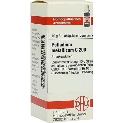PALLADIUM METALLICUM C200, 10 G, Dhu-Arzneimittel GmbH & Co. KG