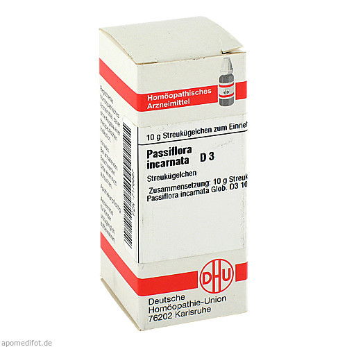 PASSIFLORA INCARNATA D 3, 10 G, Dhu-Arzneimittel GmbH & Co. KG