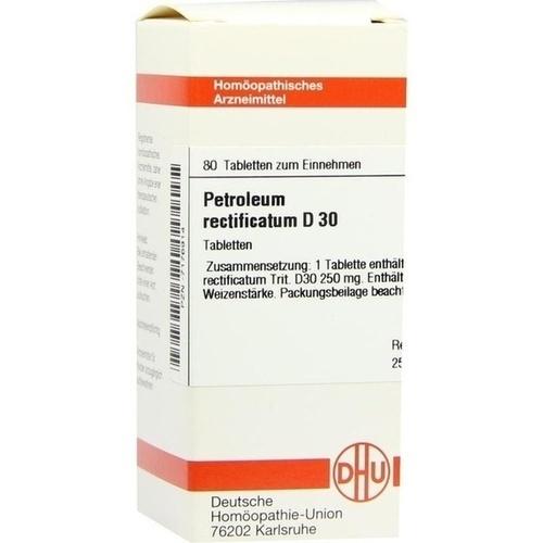 PETROLEUM RECTIFIC D30, 80 ST, Dhu-Arzneimittel GmbH & Co. KG