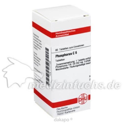 PHOSPHORUS C 6, 80 ST, Dhu-Arzneimittel GmbH & Co. KG