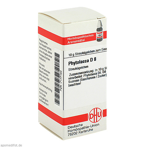 PHYTOLACCA D 8, 10 G, Dhu-Arzneimittel GmbH & Co. KG