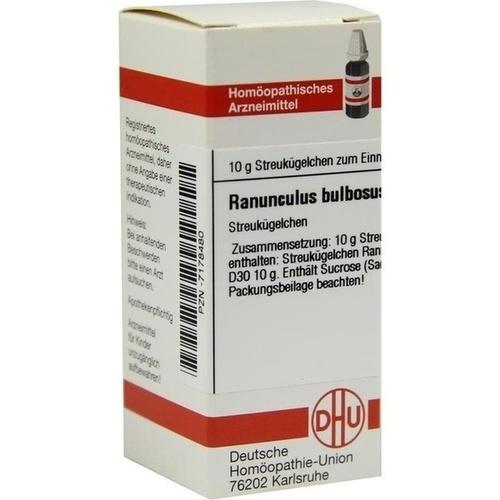 RANUNCULUS BULBOSUS D30, 10 G, Dhu-Arzneimittel GmbH & Co. KG
