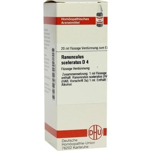 RANUNCULUS SCEL D 4, 20 ML, Dhu-Arzneimittel GmbH & Co. KG