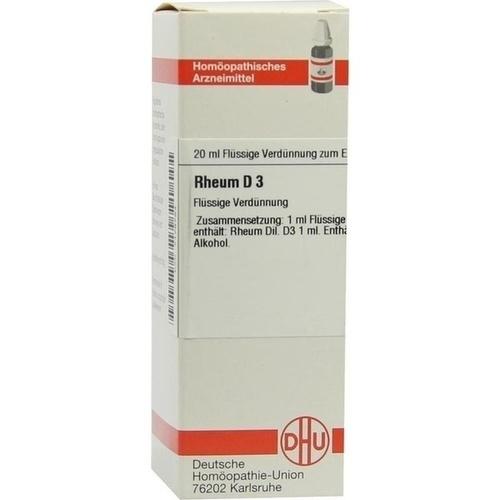 RHEUM D 3, 20 ML, Dhu-Arzneimittel GmbH & Co. KG