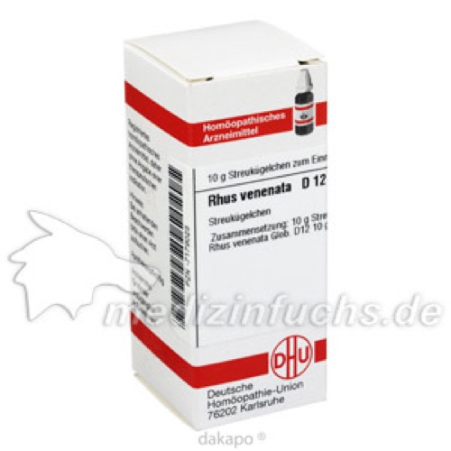 RHUS VENENATA D12, 10 G, Dhu-Arzneimittel GmbH & Co. KG