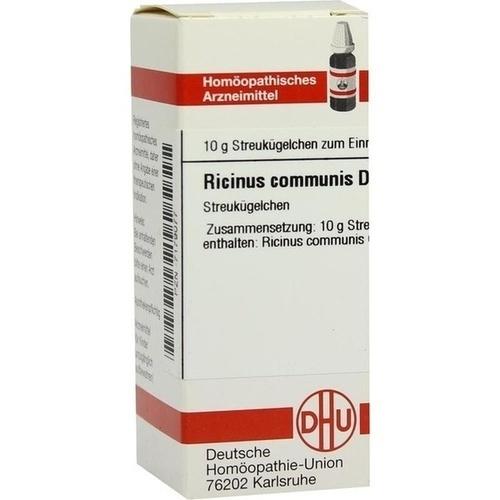 RICINUS COMMUNIS D 4, 10 G, Dhu-Arzneimittel GmbH & Co. KG
