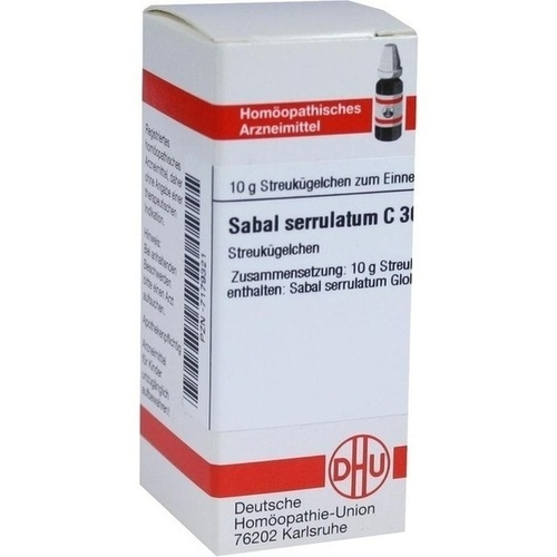 SABAL SERRULATUM C30, 10 G, Dhu-Arzneimittel GmbH & Co. KG