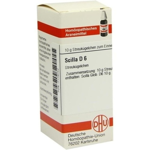 SCILLA D 6, 10 G, Dhu-Arzneimittel GmbH & Co. KG