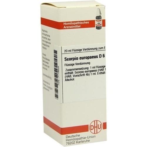 SCORPIO EUROPAEUS D 6, 20 ML, Dhu-Arzneimittel GmbH & Co. KG