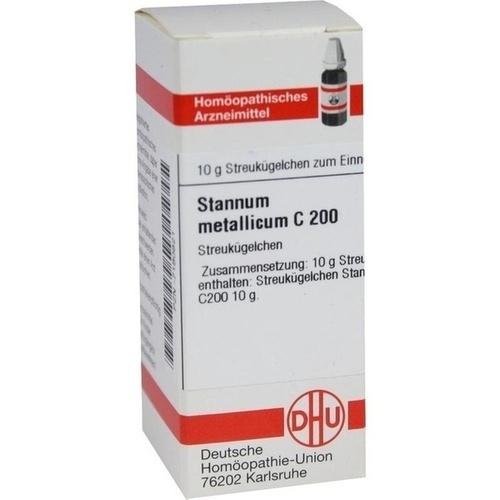 STANNUM METALLICUM C200, 10 G, Dhu-Arzneimittel GmbH & Co. KG