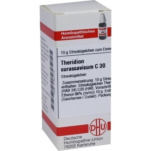 THERIDION CURAS. C30, 10 G, Dhu-Arzneimittel GmbH & Co. KG