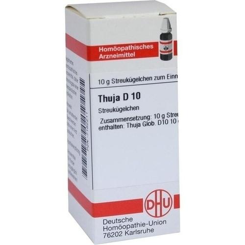 THUJA D10, 10 G, Dhu-Arzneimittel GmbH & Co. KG