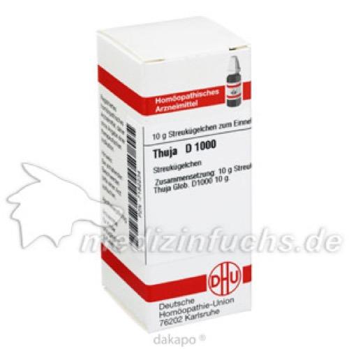 THUJA D1000, 10 G, Dhu-Arzneimittel GmbH & Co. KG