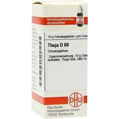 THUJA D60, 10 G, Dhu-Arzneimittel GmbH & Co. KG