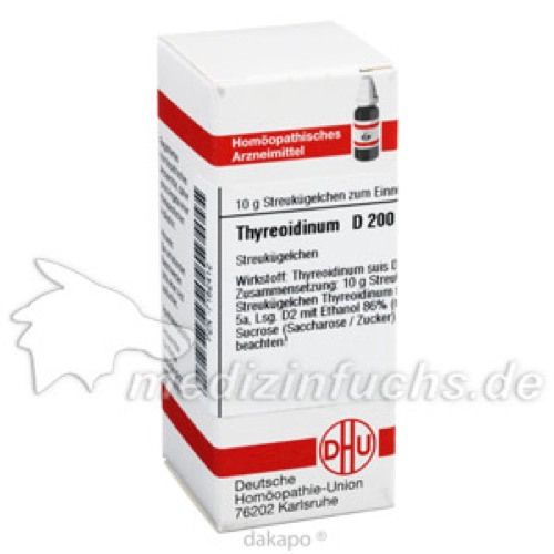 THYREOIDINUM (SUIS) D200, 10 G, Dhu-Arzneimittel GmbH & Co. KG