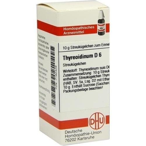 THYREOIDINUM (SUIS) D 6, 10 G, Dhu-Arzneimittel GmbH & Co. KG