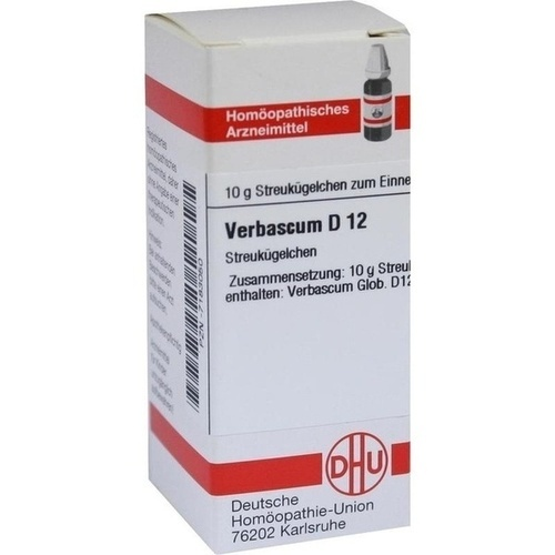 VERBASCUM D12, 10 G, Dhu-Arzneimittel GmbH & Co. KG