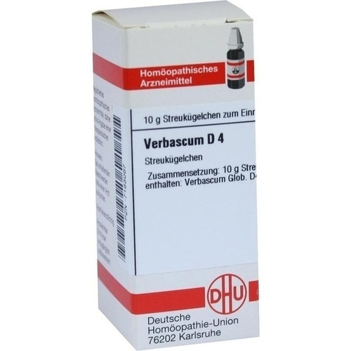 VERBASCUM D 4, 10 G, Dhu-Arzneimittel GmbH & Co. KG
