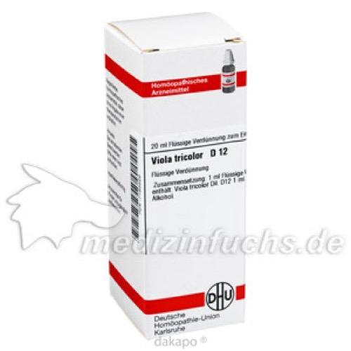 VIOLA TRICOLOR D12, 20 ML, Dhu-Arzneimittel GmbH & Co. KG