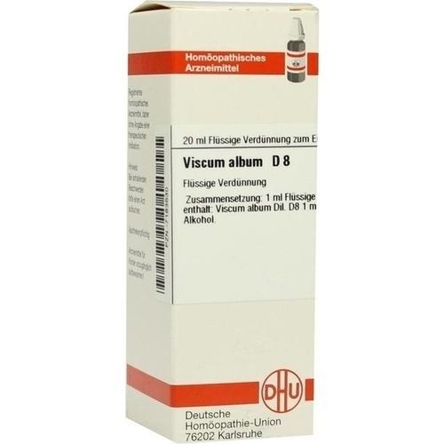 VISCUM ALBUM D 8, 20 ML, Dhu-Arzneimittel GmbH & Co. KG