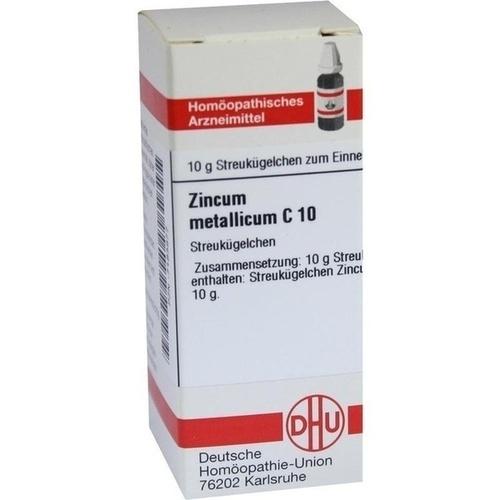 ZINCUM METALLICUM C10, 10 G, Dhu-Arzneimittel GmbH & Co. KG