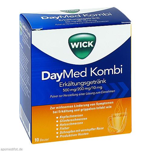 WICK DAYMED Kombi-Erkältungsgetränk, 10 ST, Procter & Gamble GmbH