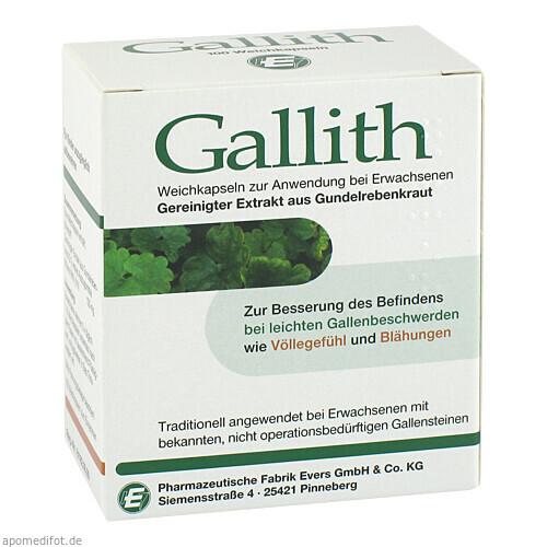 GALLITH, 100 ST, Pharmazeutische Fabrik Evers GmbH & Co. KG