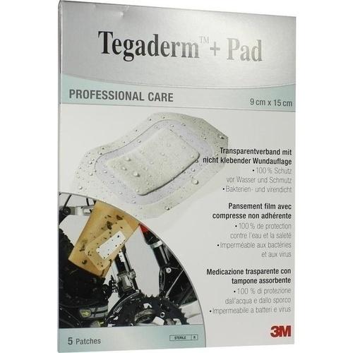 Tegaderm Plus Pad 3M 9.0cmx15.0cm, 5 ST, 3M Medica Zweigniederlassung der 3M Deutschland GmbH