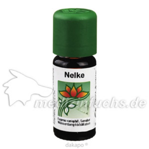 NELKENÖL EXTRAFEIN CHRÜTERMÄNNLI, 10 ML, Pharma Brutscher