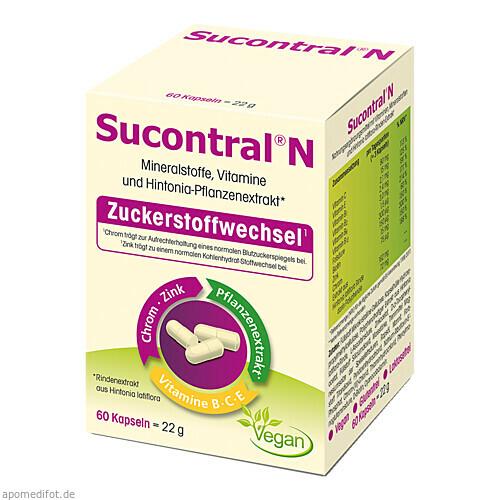 Sucontral N, 60 ST, Harras Pharma Curarina Arzneimittel GmbH