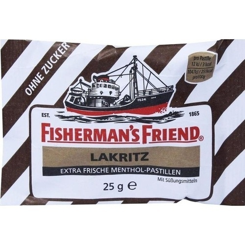 Fishermans Friend Lakritz o.Z.Pastillen, 25 G, Queisser Pharma GmbH & Co. KG