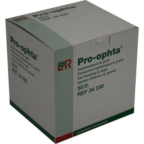 Pro-ophta Augenverband S gross, 50 ST, Lohmann & Rauscher GmbH & Co. KG