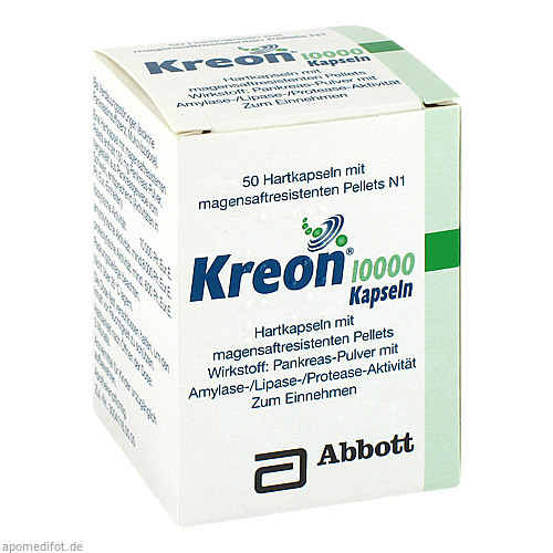 Kreon 10000, 50 ST, Mylan Healthcare GmbH